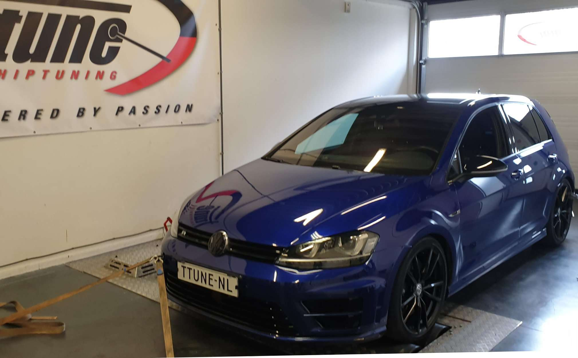 VW Golf 7R stage 1+